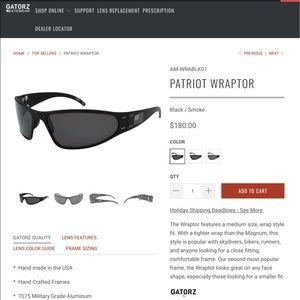Gators sunglasses PATRIOT WRAPTOR